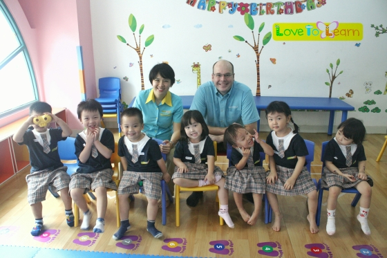 Mr. Matthew and N2 Students