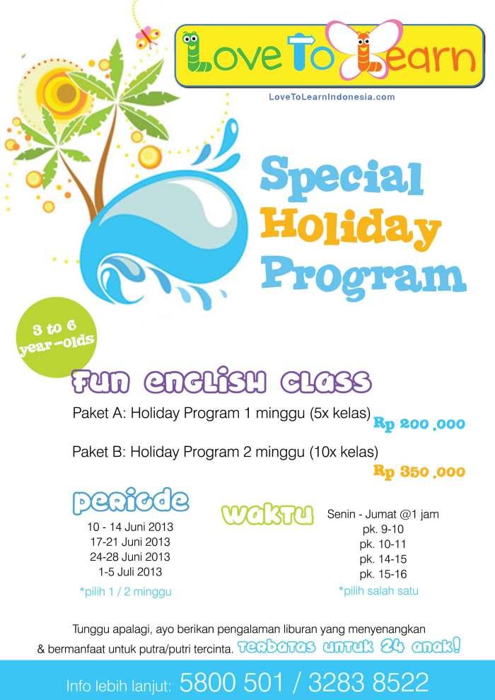 special holiday program