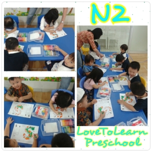 N2 Class - Drawing Activities