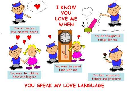 you speak my love languange
